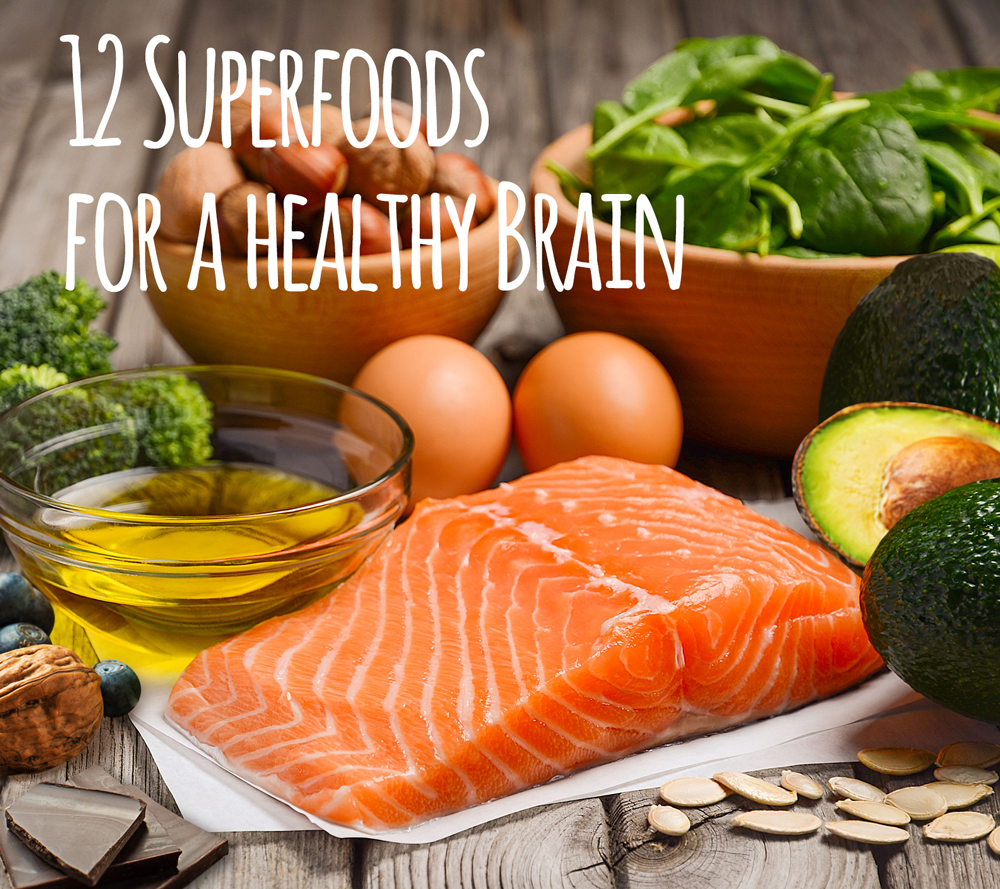 foods for a healthy brain