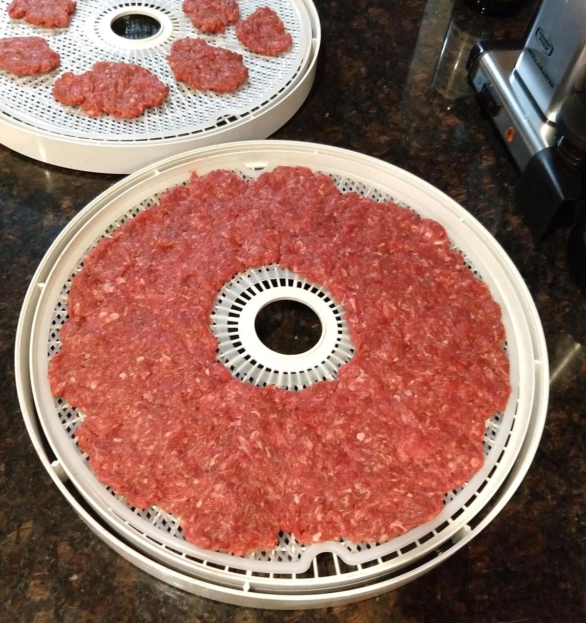 Paleo beef jerky raw