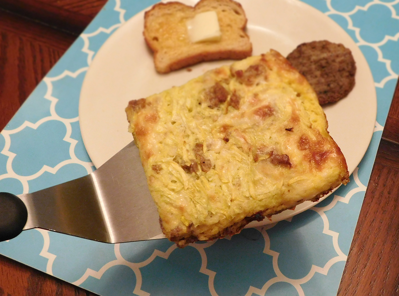 How to Get Kids to Eat More Veggies + Breakfast Casserole Recipe