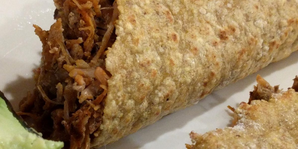 2 Ingredient Grain Free Plantain Tortillas