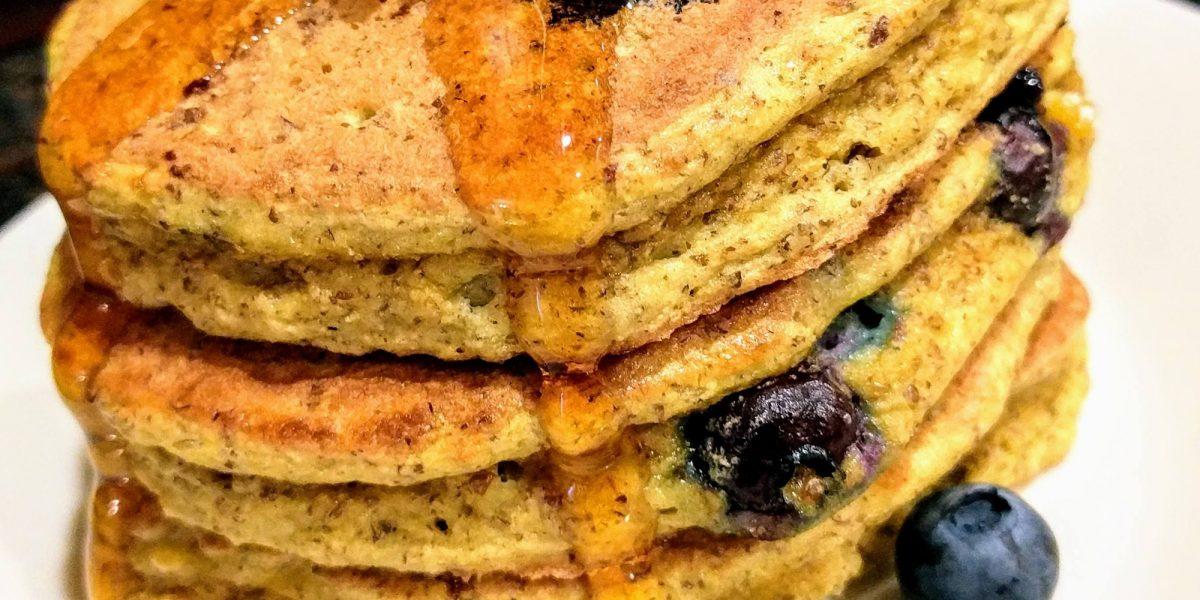 Easy Low Carb pancakes (keto, paleo, nut free)