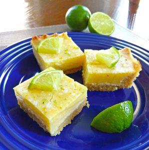Key Lime Pie Bars (keto, dairy free)