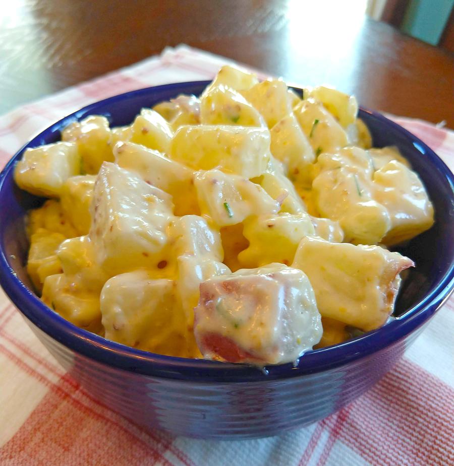 Easy Keto Potato Salad