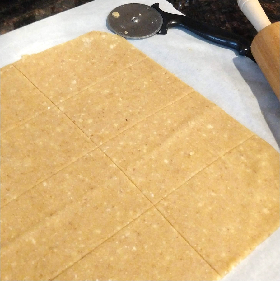 Pop Tart Dough Rolled